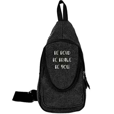 65b72495090 hot sale 2017 SOME PEOPLE JUST NEED A PAT ON THE BACK Fashion Men s Bosom  Bag