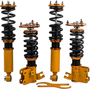 Full Coilovers Kits For Nissan 240SX S13 1989-1994 Coil Struts Shocks Suspension
