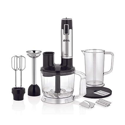 Universal Robot de cocina | batidora | Batidor | picadora, 1000 W, cuchilla de