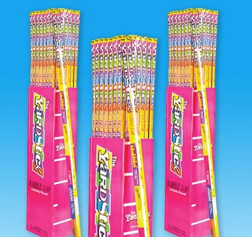48 PCS YARDSTICK BUBBLE GUM, Case of 2
