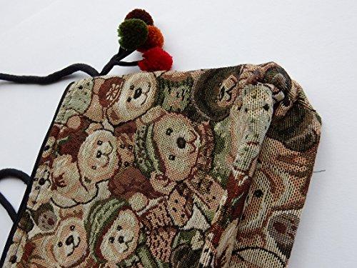 Ariyas para multicolor mujer multicolor Bolso Thaishop cruzados rHvwtx0rq