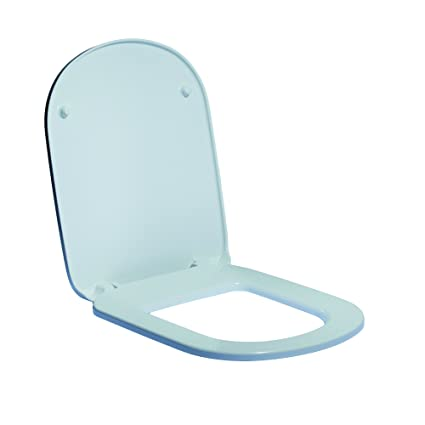 Ideal Standard J523201 Sedile con Cerniere Metallo, Ceramica ...