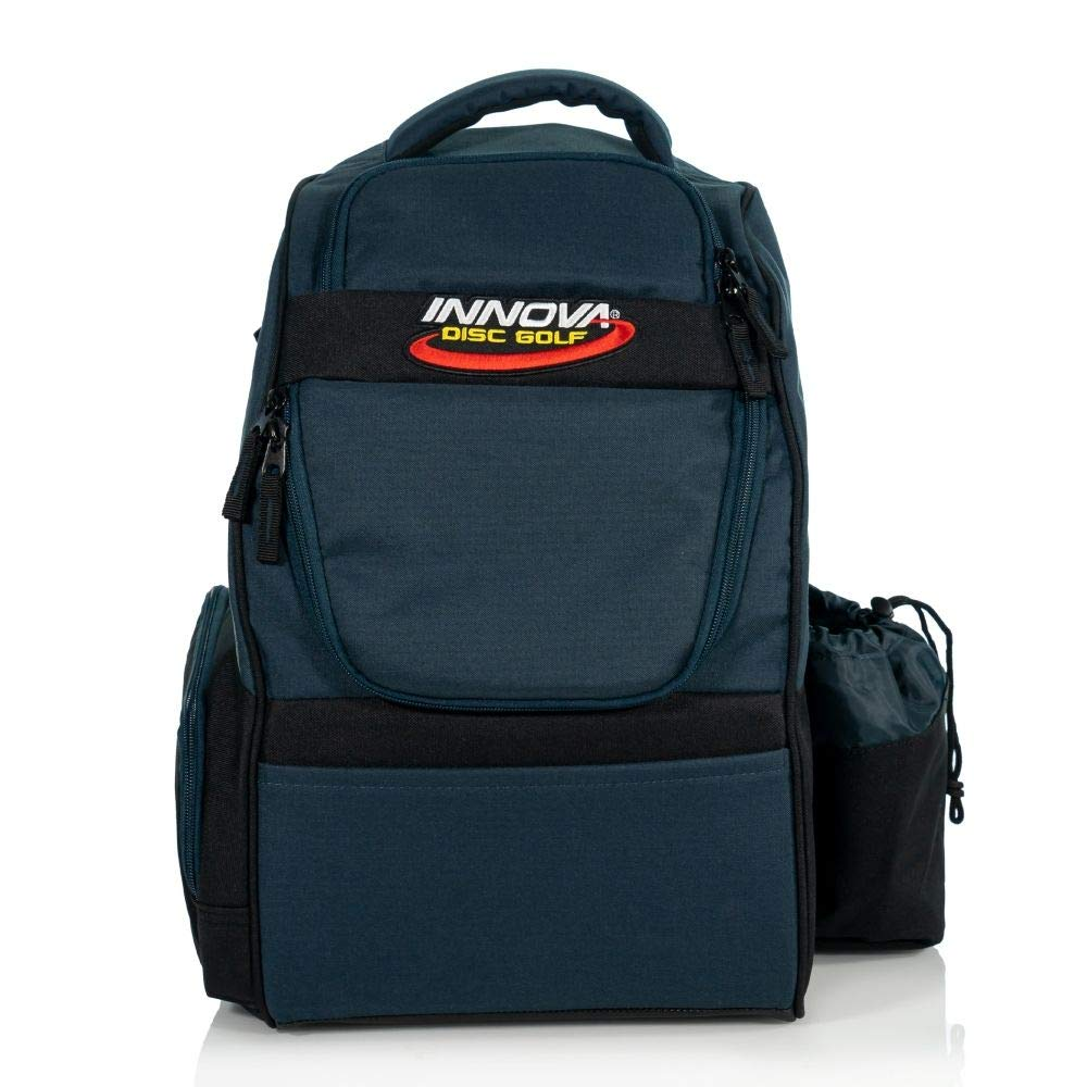 Innova Disc Golf Adventure Pack Backpack Disc Golf Bag - Navy Blue by Innova Disc Golf