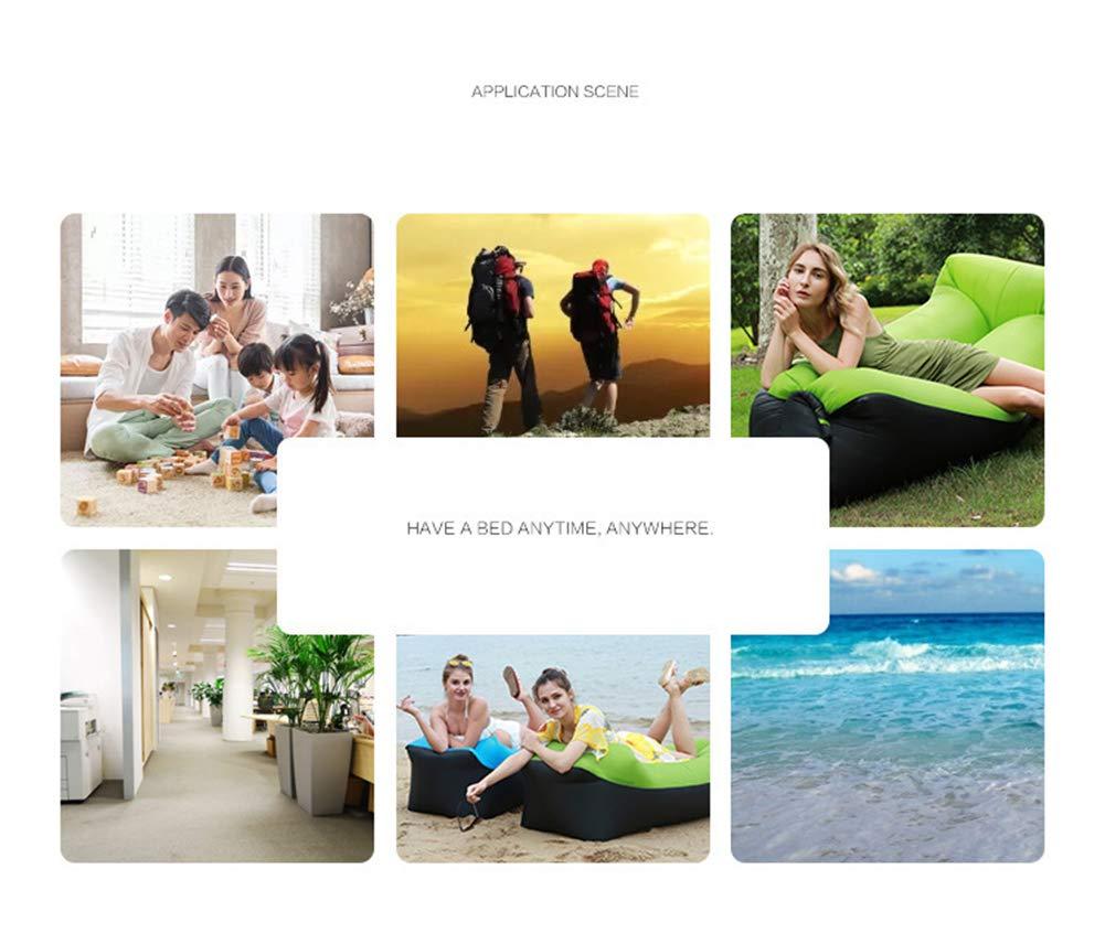 Amazon.com: IOA Sofá de aire portátil para exteriores, cama ...