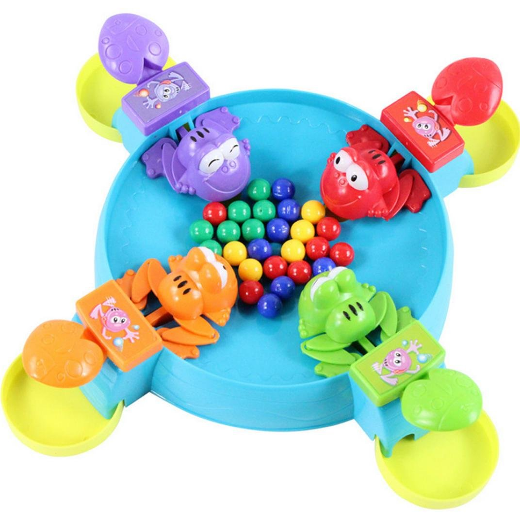 KingWo Funny Table game Feeding Frogs Parent-child interaction toys Board Game educational toys