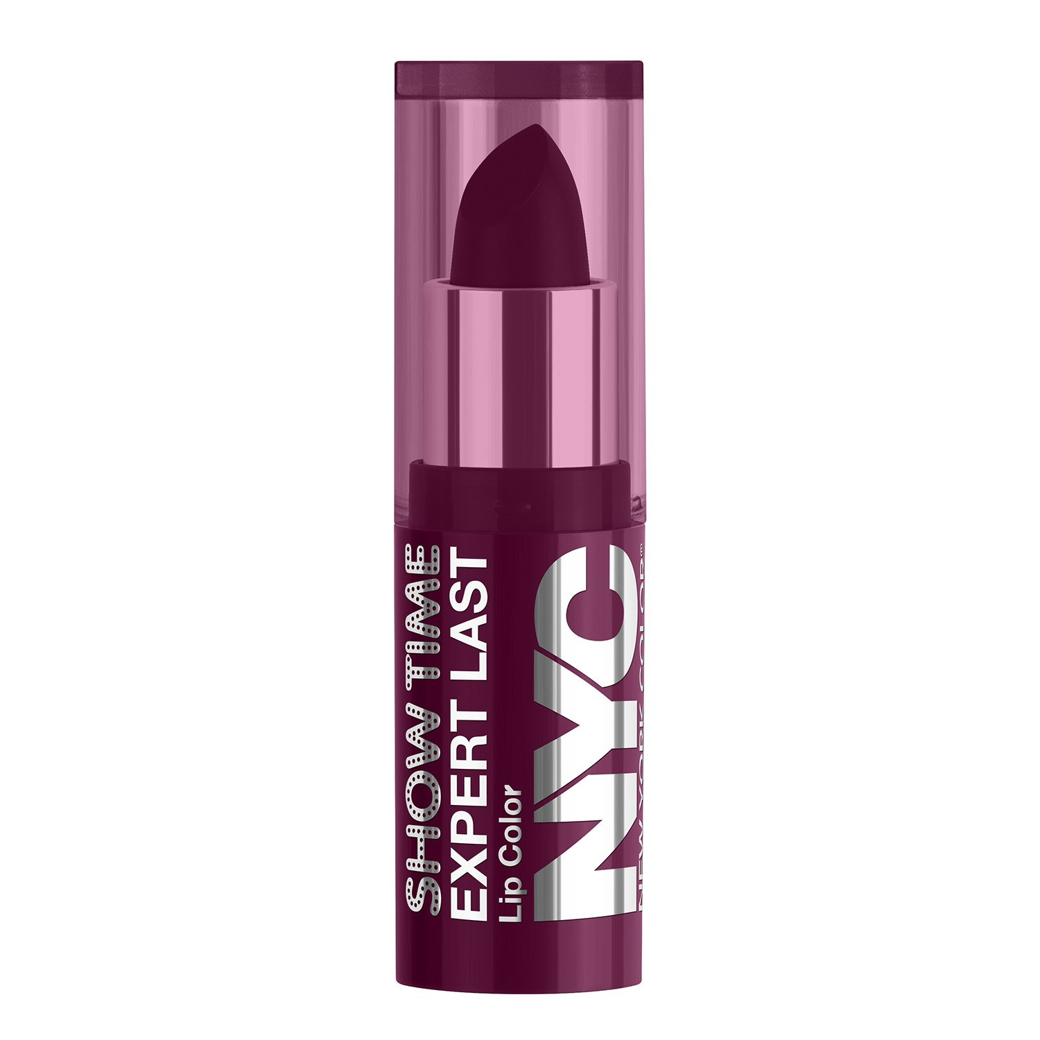 NYC New York Color Showtime Expert Last Lipstick-1.15g, Cherry On The Cake Coty