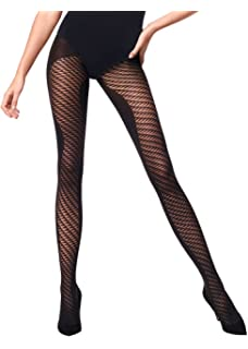 42e19e96c Wolford Logo Tights - Hosiery Outlet at Amazon Women s Clothing store
