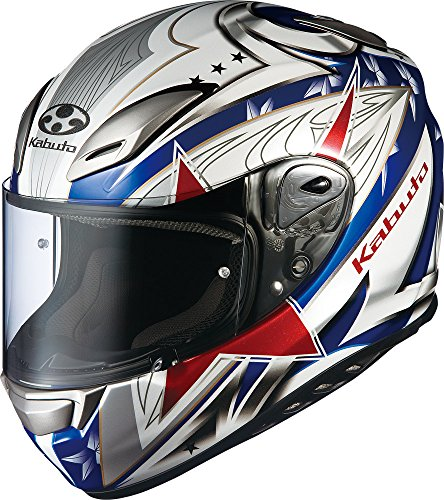 Kabuto Aeroblade III Tricolor Helmet Red/White/Blue for sale  Delivered anywhere in USA