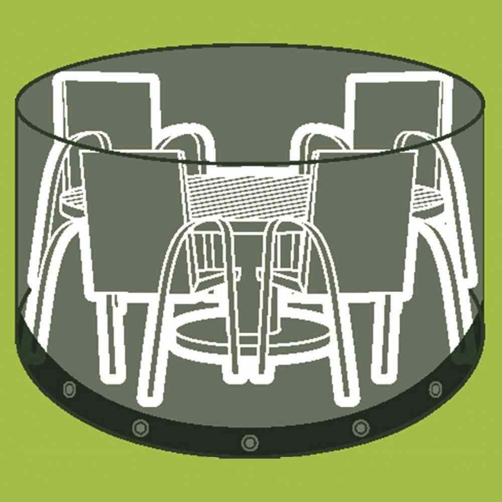Sitzgruppenhülle 320 cm, Polyestergewebe Oxford 600 anthrazit, Ø 230 x H 96