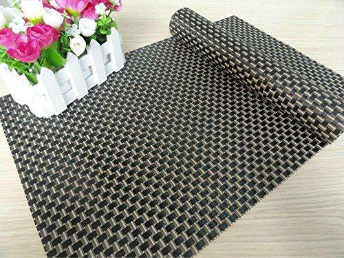 placemats placemats pvc placemats woven vinyl placemats easycare durable non