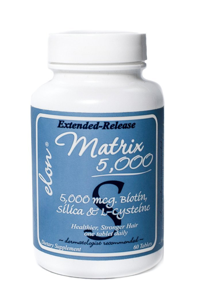 Elon Matrix 5000 Extended Release for Healthier and Stronger Hair - 60 tablets