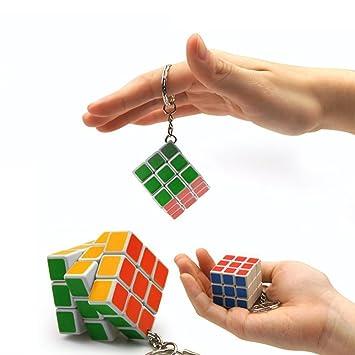Mini Magic Cube llavero 3 * 3 * 3 Cubo Mágico Juego toy-1pcs ...