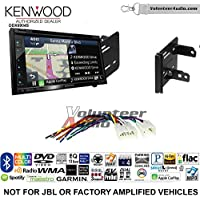 Volunteer Audio Kenwood Excelon DNX694S Double Din Radio Install Kit with GPS Navigation System Android Auto Apple CarPlay Fits 2012-2014 Non Amplified Toyota Yaris
