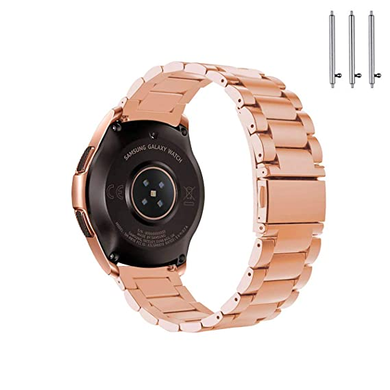 Amazon.com: Gear Sport/Gear S2 Classic 42mm Bands,Stainless ...