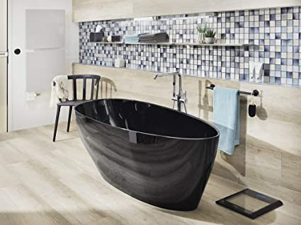 Vasca Da Bagno Ghisa : Modena vasca da bagno autoportante in ghisa minerale ovale con