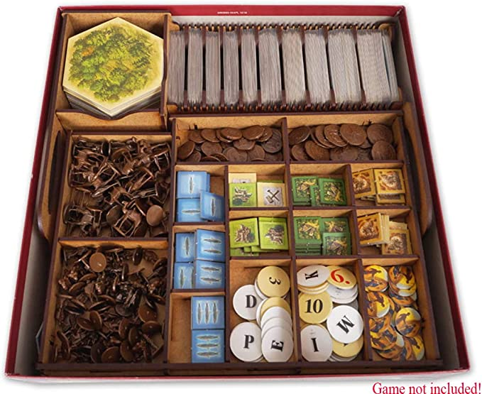 docsmagic.de Organizer Insert for Catan Box - Encarte: Amazon.es: Juguetes y juegos