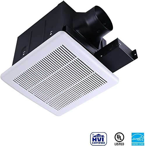 Ultra Quiet Ventilation Fan Bathroom Exhaust Fan 70CFM 0.3Sone with 4 Inch Duct Size