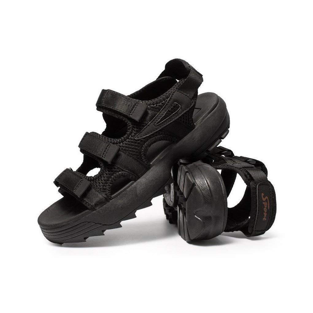 Sommer Sandalen Männer Männer Männer und Frauen Schuhe Paar Modelle Sport Vietnam Mode-Trends Herren Outdoor-Schuhe Offene Spitze Strand Flache Sandalen (Farbe   Ein, Größe   43) ( Farbe   B , Größe   39 ) 5597e7