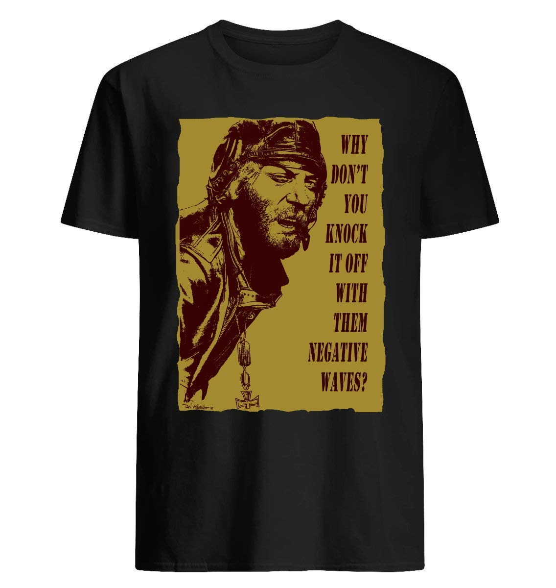 Kelly-s-heroes-oddball-says-umber-&-gold-84-t-shirt--for---t-shirt For