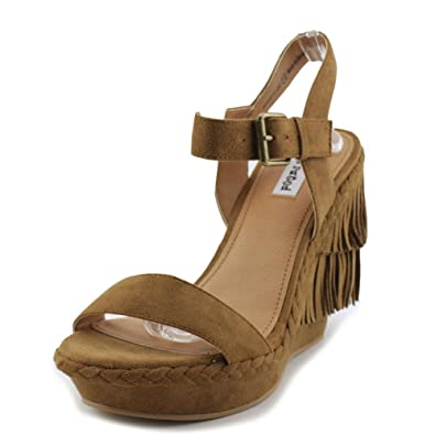 70e2b4c5691 Not Rated Womens Roaring Ruby Open Toe Casual Platform Sandals TAUPE Size  6.0