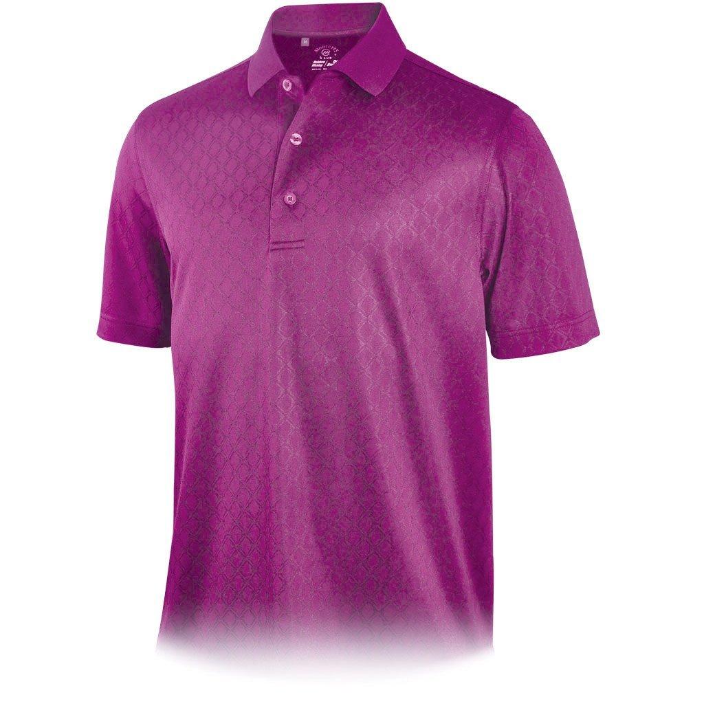 a8e70737ce Monterey Club Mens Diamond Jacquard Polo at Amazon Men's Clothing store: