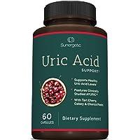 Premium Uric Acid Support Supplement - Uric Acid Cleanse & Kidney Support - Includes Tart Cherry, Chanca Piedra, Celery…