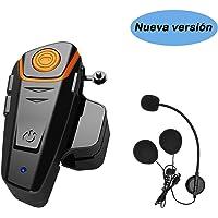KOEITT BT S2 Intercomunicador Casco Moto,Auriculares Bluetooth