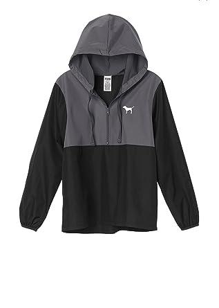 Amazon.com: Victoria&39s Secret Pink Anorak Windbreaker Jacket