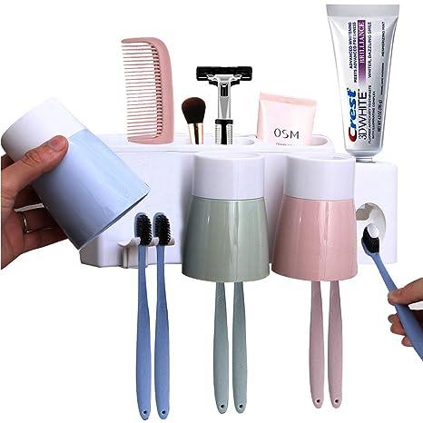 Amazon.com: MEIJUBOL - Soporte para cepillos de dientes ...