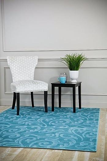 5657 Modern Blue 6×9 Area Rug Carpet Large New