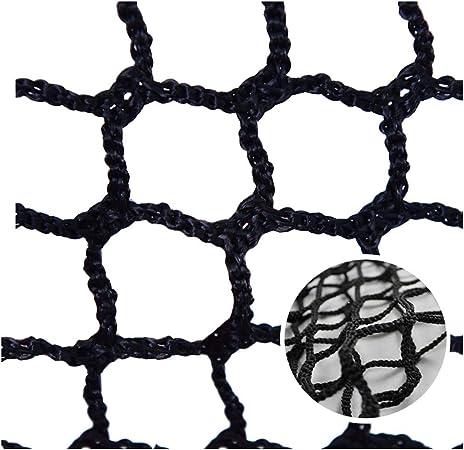 AEINNE Red Escalera Bebe,Red Cuerda Negra de Terraza Seguridad Niños Deportes Escaleras Protección Gatos para Balcones Malla Nylon Goal Net Nets Redes Bola Campo Aire Libre Futbol Golf Bola: Amazon.es: Hogar