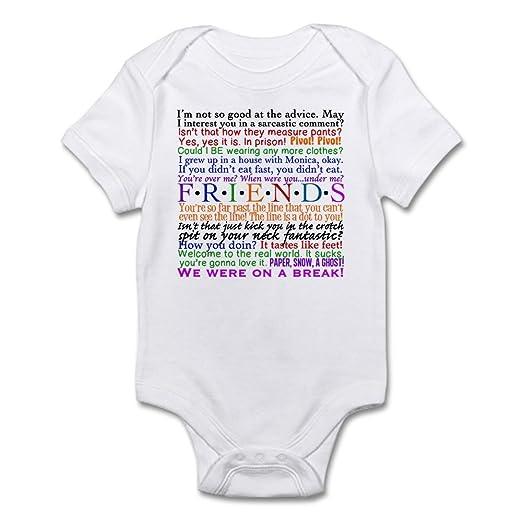 a0a472a001d7 Amazon.com  CafePress Friends TV Quotes Infant Bodysuit Baby ...