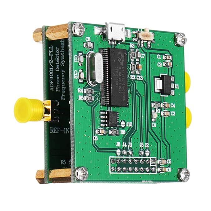 Yongse adf4002 RF Módulo PLL VCO 400 MHz Detector de Fase Frecuencia Sintetizador con Adi Impuestos Placa: Amazon.es: Electrónica