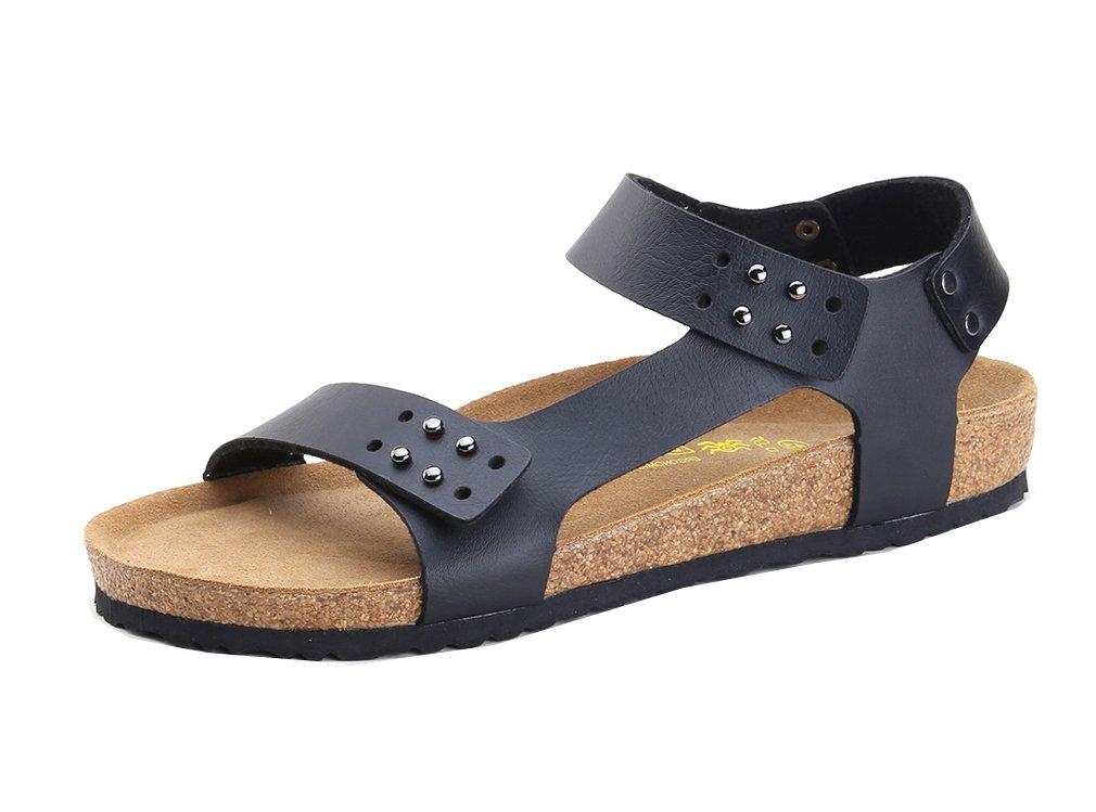 Dilize - Sandalias de vestir para hombre 45 EU|negro
