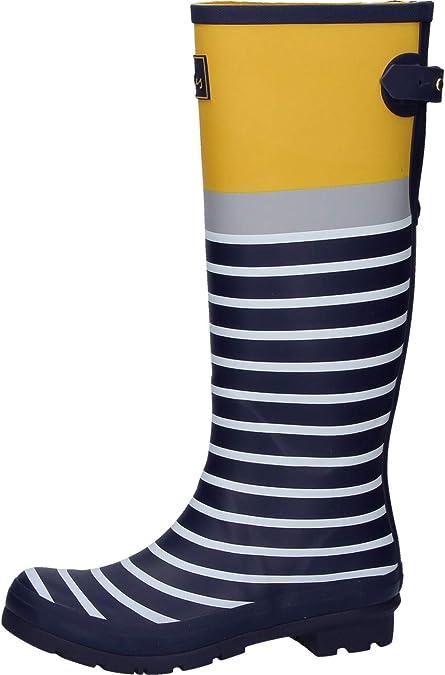 Tom Joule Women S Welly Print Wellington Boots Black Amazon De Schuhe Handtaschen