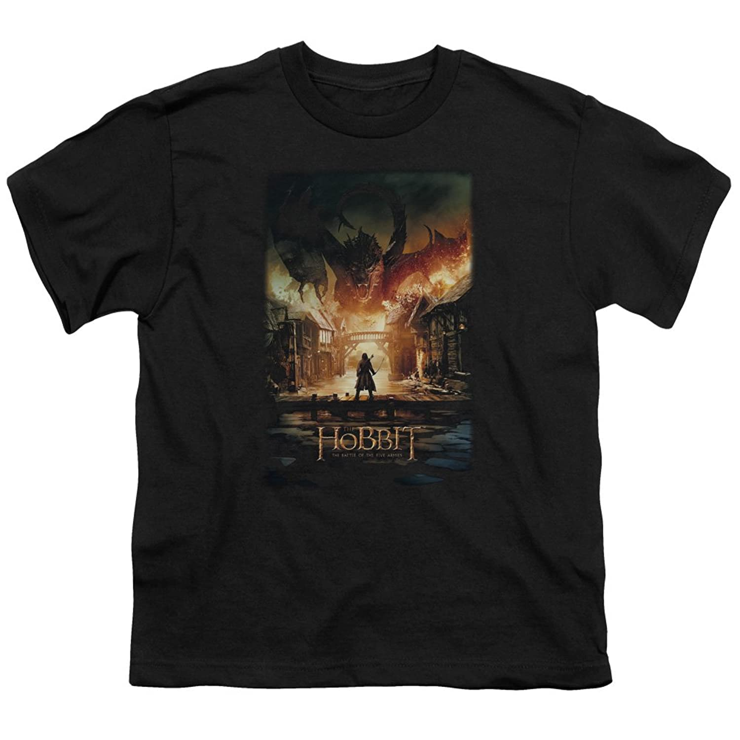 Hobbit - Youth Smaug Poster T-Shirt