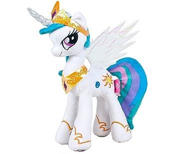 Quirón My Little Pony Celestia 25 cm, peluche con sonido y luz (Famosa 760012203