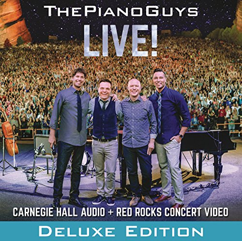 CD : The Piano Guys - Live (Deluxe Edition, 2 Disc)