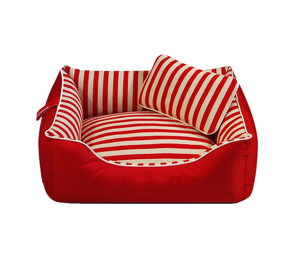 Red s- for 6 kg following red s- for 6 kg following DAN Heavy Duty Pet Bed or Bed Cover, Removable & Washable Cover with Zippers