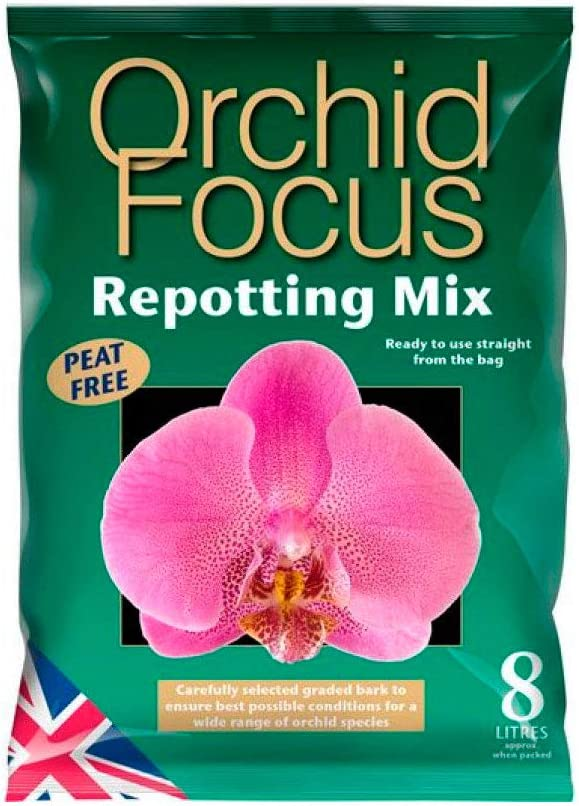 Sustrato para el cultivo de Orquídeas Growth Technology Orchid Focus Mix (8L)