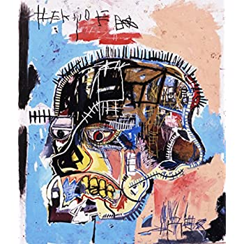 Berkin Arts Jean Michel Basquiat Giclee Canvas Print Paintings Poster  Reproduction (Head)