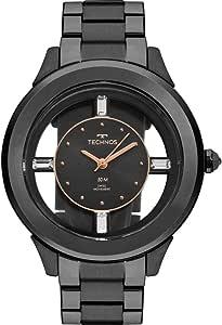 Relógio Technos Feminino Crystal Preto - F03101AC/4P
