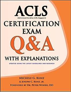 Acls practice code scenarios 2013 ken grauer 9781930553248 acls certification exam qa with explanations fandeluxe Images