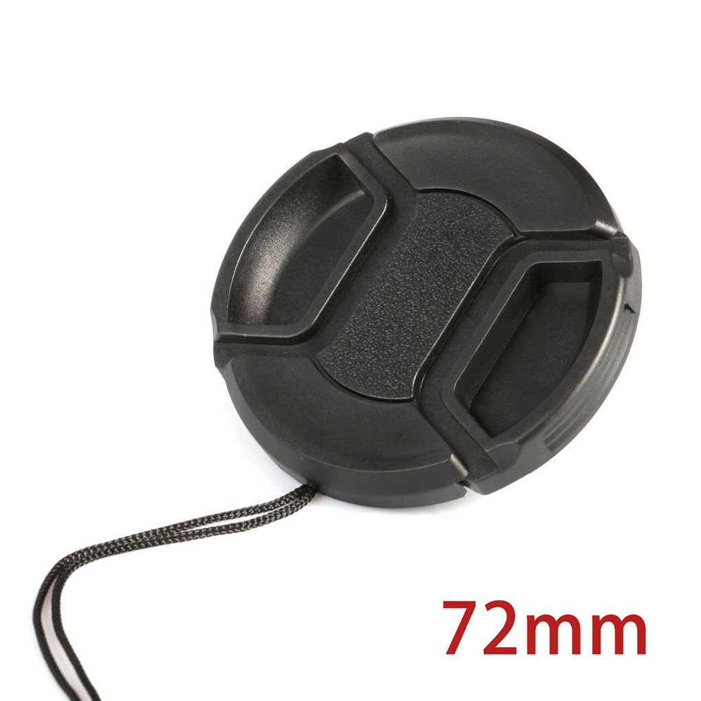 LUFA Tapa frontal universal para c/ámara Canon Snap-on para Canon Nikon 46//49//52//55//58//62//67//72 77mm