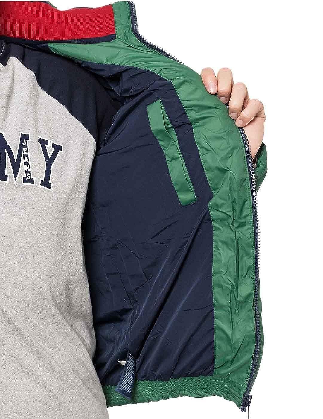 Tommy Hilfiger - Essential Down - Plumas Verde - Hombre: Amazon.es: Ropa y accesorios