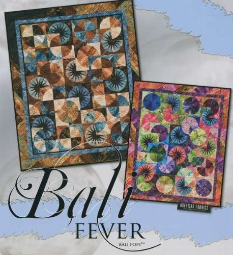 Judy Niemeyer 'Bali Fever' Foundation Paper Piecing Quilt Pa