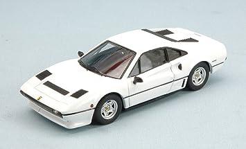 Best Model Bt9575 Ferrari 208 Gtb Turbo 1982 White 1 43 Model Lino Die Cast Model Amazon De Spielzeug
