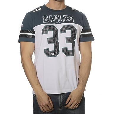 Majestic T-Shirt – Nfl Philadelphia Eagles Grapher Coach grün weiß Größe  M 3e2d15ab0