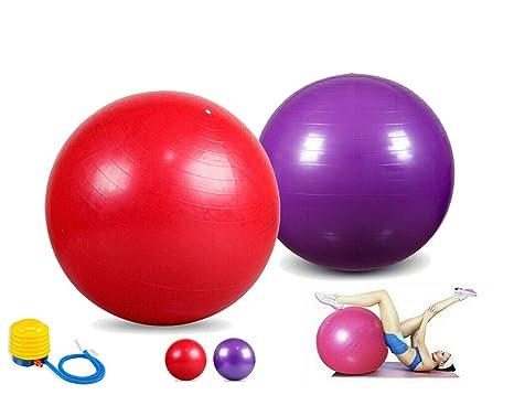 Topolenashop - Pelota de Gimnasia Hinchable para Yoga, Pilates ...