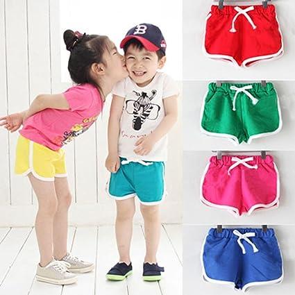 Covermason Niños Ropa Venta de liquidación Niños pequeños Bebés y niñas Pantalones cortos para niños Pantalones